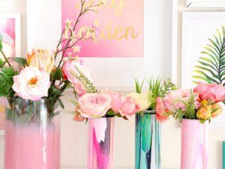 galentines-day-marbleized-glass-flower-vase
