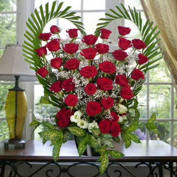 60-Cool -and -Beautiful- Valentine- Table -Decorating- Ideas _06