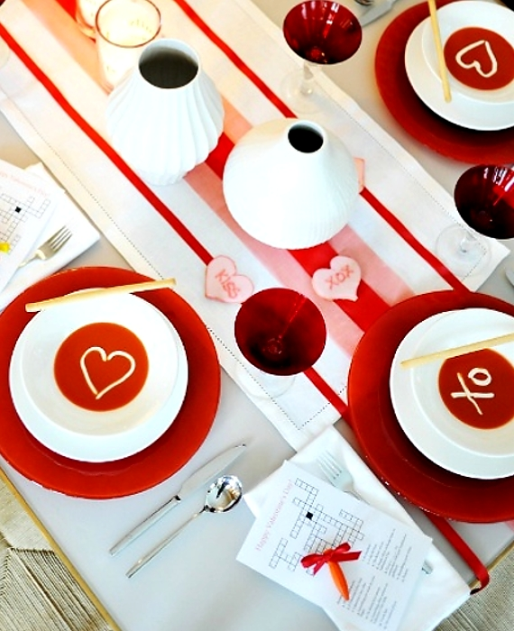 60-Cool -and -Beautiful- Valentine- Table -Decorating- Ideas _25
