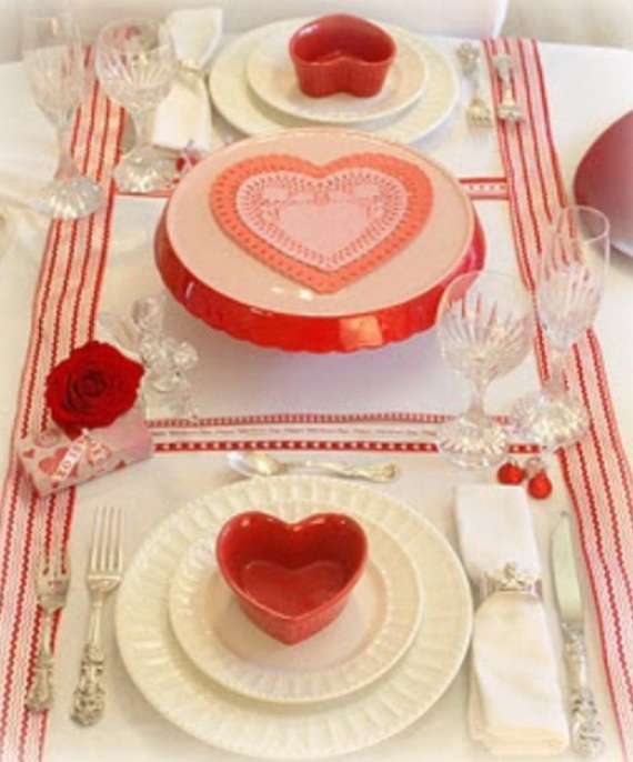 60-Cool -and -Beautiful- Valentine- Table -Decorating- Ideas _44