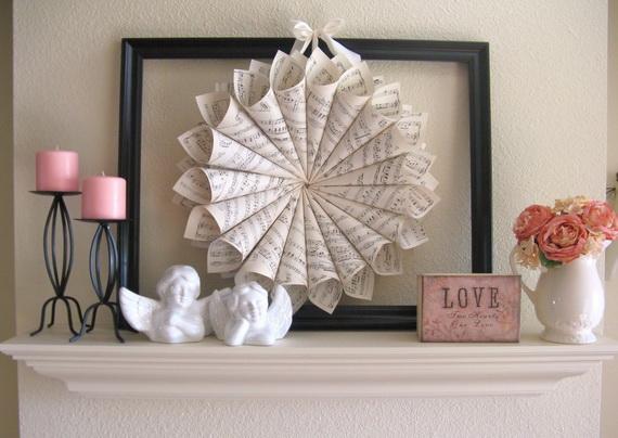 65 -Gorgeous- Valentine's- Day- Mantel- Décor- Ideas_10