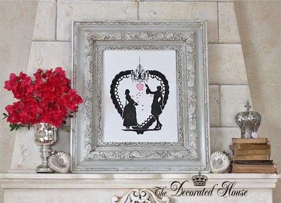 65 -Gorgeous- Valentine's- Day- Mantel- Décor- Ideas_15