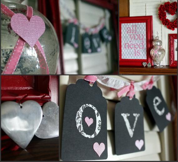 65 -Gorgeous- Valentine's- Day- Mantel- Décor- Ideas_20