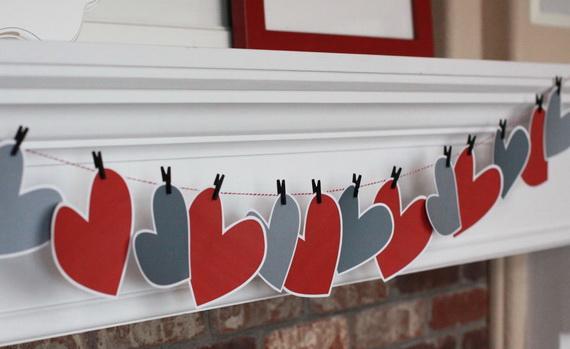 65 -Gorgeous- Valentine's- Day- Mantel- Décor- Ideas_40