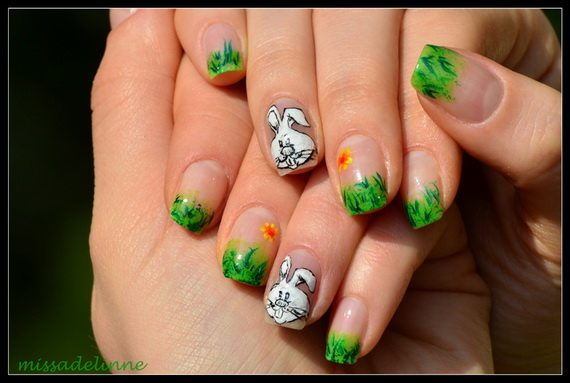 Adorable -Spring & Easter- Nail- Art- Ideas_20