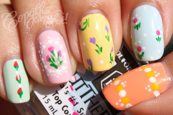 Adorable -Spring & Easter- Nail- Art- Ideas_21