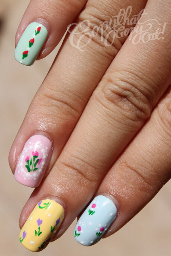 Adorable -Spring & Easter- Nail- Art- Ideas_22
