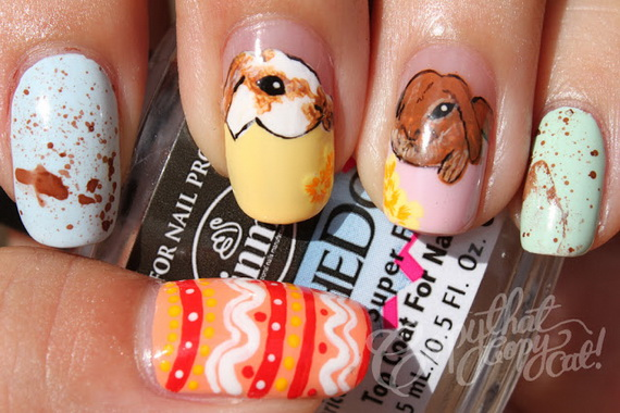 Adorable -Spring & Easter- Nail- Art- Ideas_23