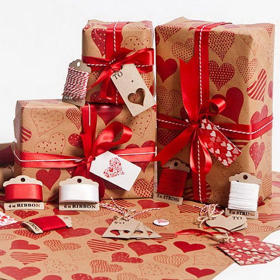 Beautiful Wrapping- Gift- Design-s and- Ideas-  For- Valentine's- Day_17