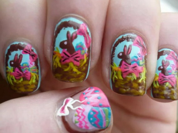 Cute- Easy Easter- Bunny- Nails- Ideas_15