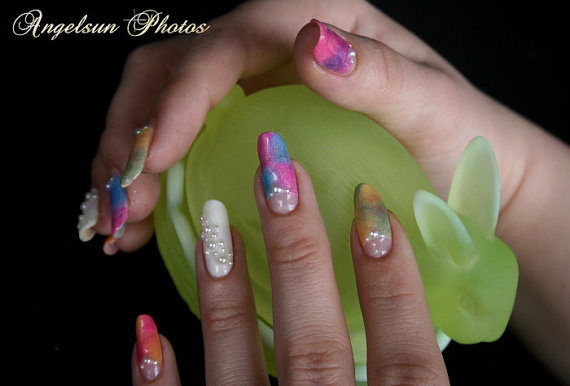 Cute- Easy Easter- Bunny- Nails- Ideas_31