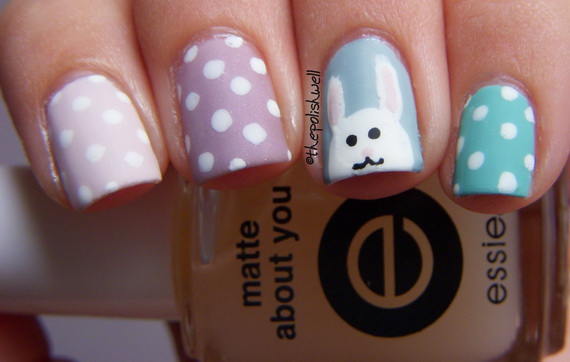 Cute- Easy Easter- Bunny- Nails- Ideas_35