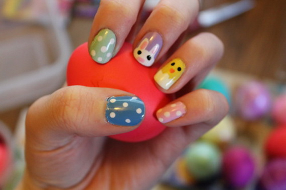 Cute- Easy Easter- Bunny- Nails- Ideas_46