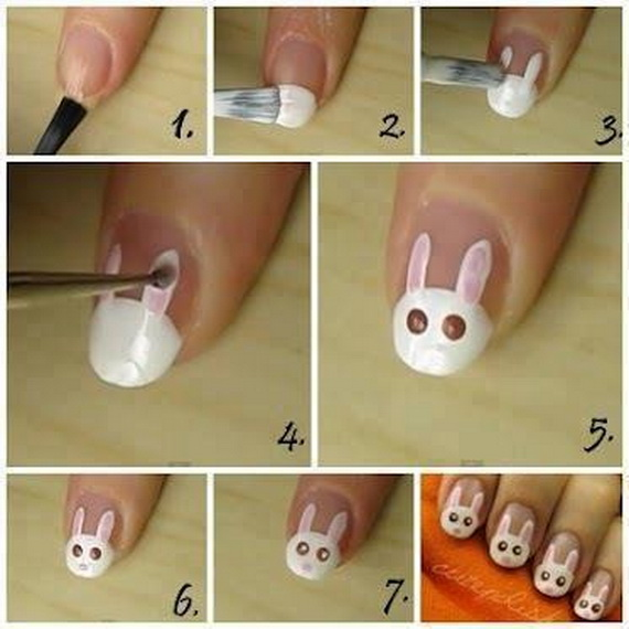 Cute- Easy Easter- Bunny- Nails- Ideas_51