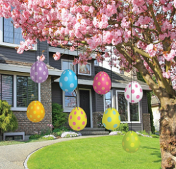 Exclusive- Outdoor- Easter- decorations