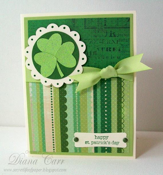 St Patricks Day Handmade Card