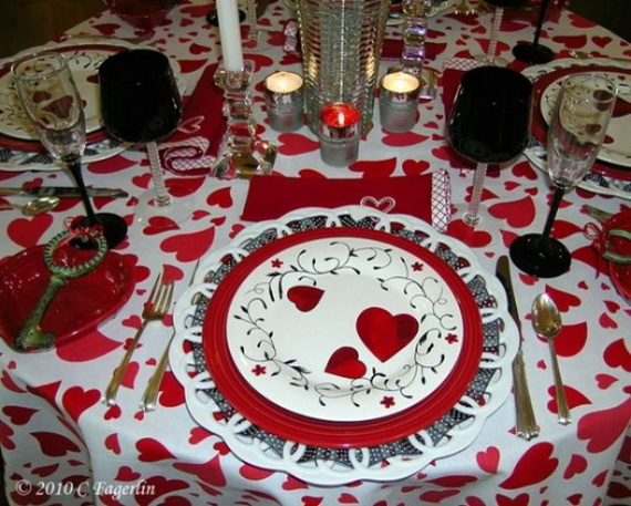 Romantic- Valentine's Day- Table -Setting -ideas_068