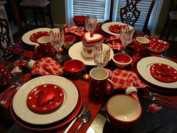 Romantic- Valentine's Day- Table -Setting -ideas_081