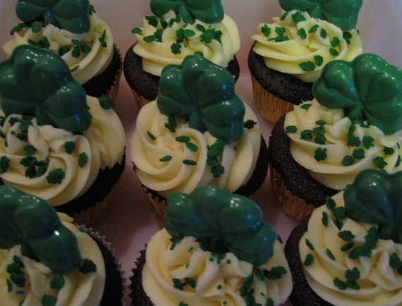 Irish cup cakes for St_ Patrick_s Day party_resize