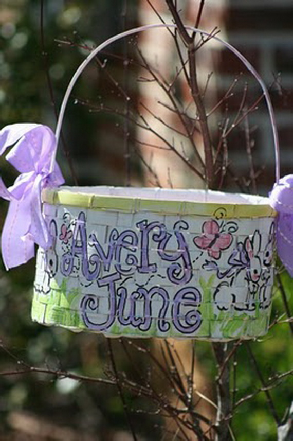 Personalized- Hand- Painted- Girl- Bunny- Easter- Basket- Ideas_18