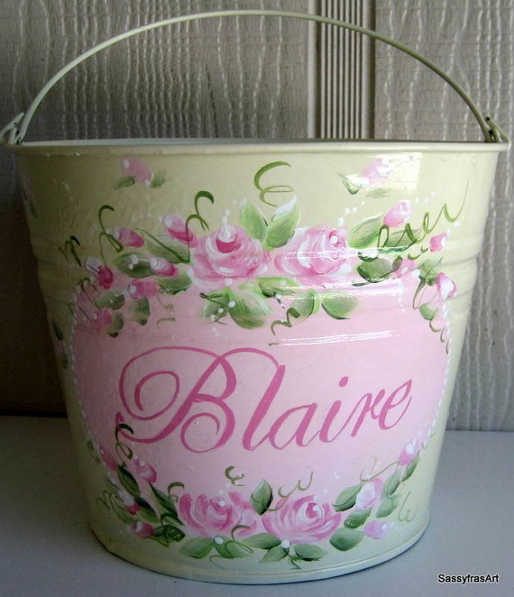 Personalized- Hand- Painted- Girl- Bunny- Easter- Basket- Ideas_41
