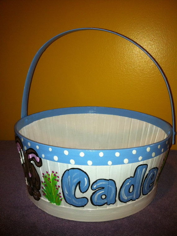 Personalized- Hand- Painted- Girl- Bunny- Easter- Basket- Ideas_42