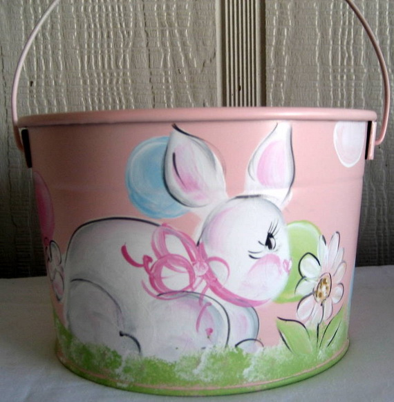 Personalized- Hand- Painted- Girl- Bunny- Easter- Basket- Ideas_43