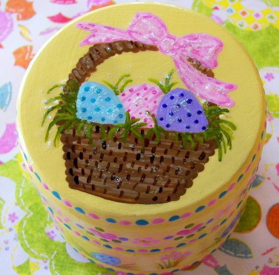 Personalized- Hand- Painted- Girl- Bunny- Easter- Basket- Ideas_44