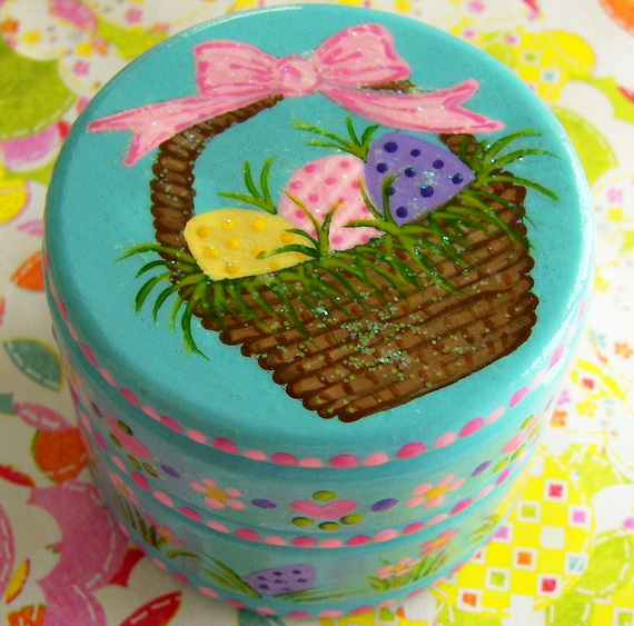 Personalized- Hand- Painted- Girl- Bunny- Easter- Basket- Ideas_45