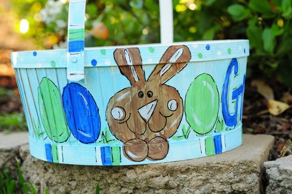 Personalized- Hand- Painted- Girl- Bunny- Easter- Basket- Ideas_46