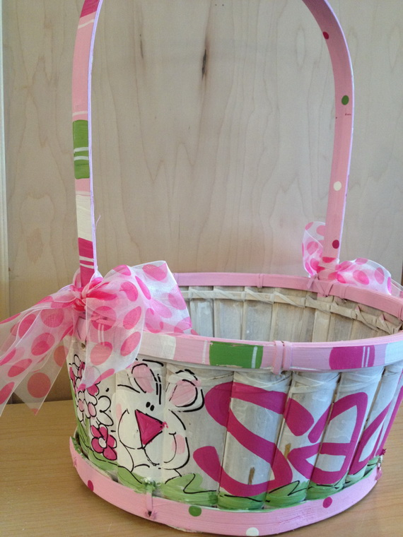 Personalized- Hand- Painted- Girl- Bunny- Easter- Basket- Ideas_48