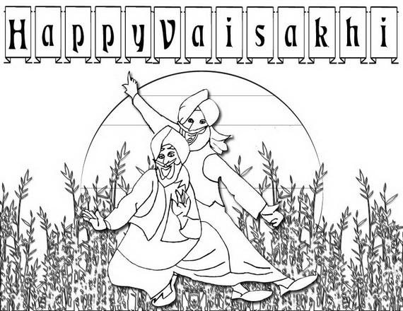 Baisakhi- Coloring- Pages- (Vaisakhi- Festival)_21