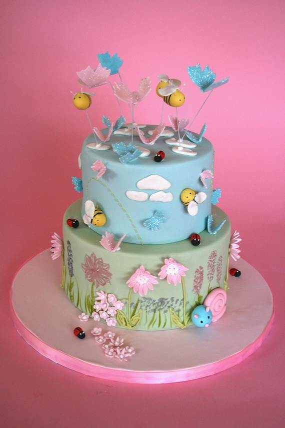 Spring Theme Cake Decorating Ideas Family Holiday Net