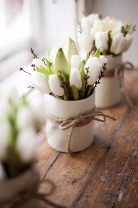 Creative Mothers Day Table Centerpiece Decoration Ideas (10)