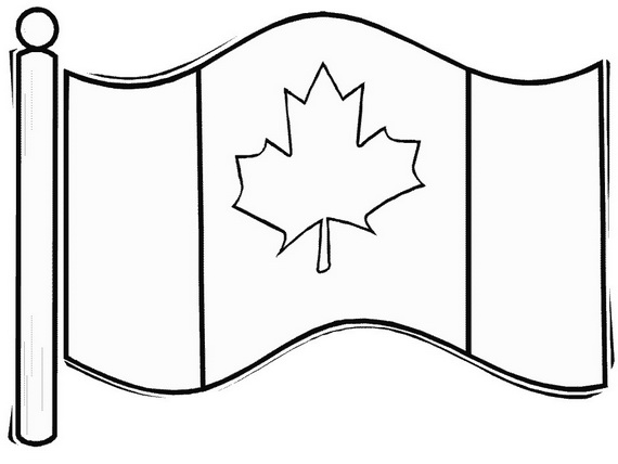 Canada Day Coloring Pages _08