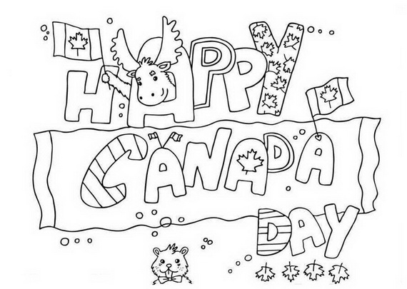 Canada Day Coloring Pages _20