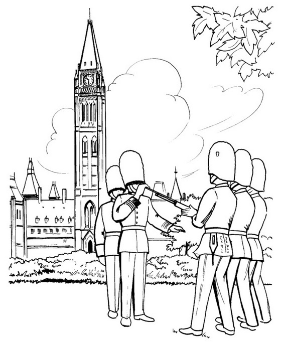 Canada Day Coloring Pages _24