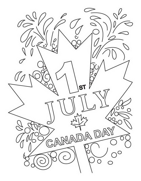 Canada Day Coloring Pages _30