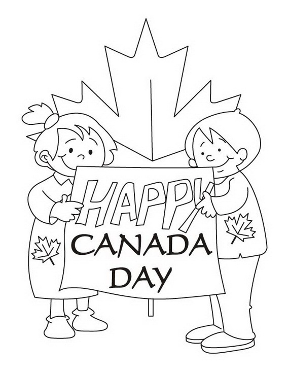 Canada Day Coloring Pages _32