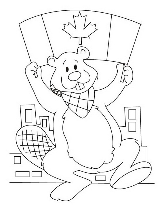 Canada Day Coloring Pages _36