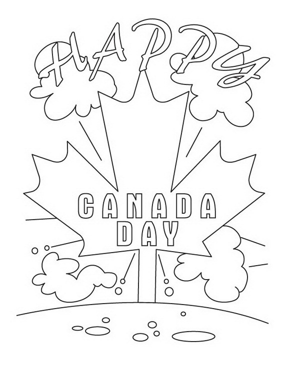 Canada Day Coloring Pages _44