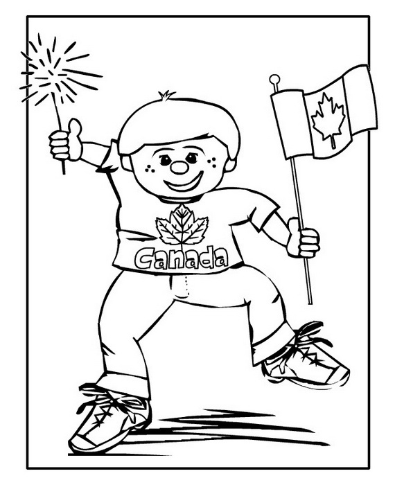 Canada Day Coloring Pages _62