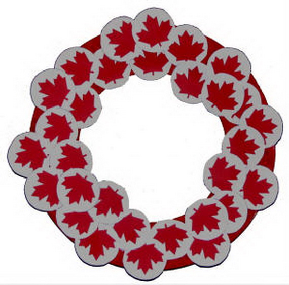 Canada Day Red and White Craft Ideas_43