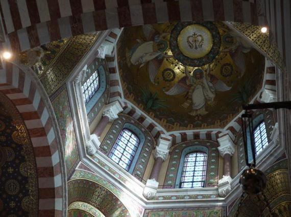 Catholic Basilica of Notre-Dame de la Garde Marseille's Queen of Hearts _04