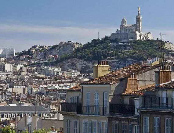 Catholic Basilica of Notre-Dame de la Garde Marseille's Queen of Hearts _09