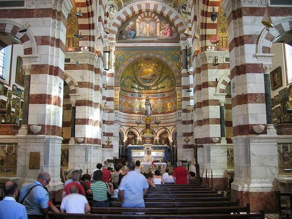 Catholic Basilica of Notre-Dame de la Garde Marseille's Queen of Hearts _10