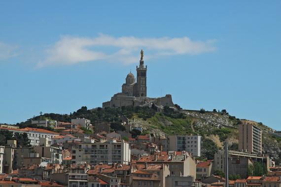 Catholic Basilica of Notre-Dame de la Garde Marseille's Queen of Hearts _13