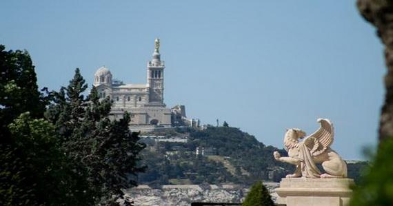 Catholic Basilica of Notre-Dame de la Garde Marseille's Queen of Hearts _17