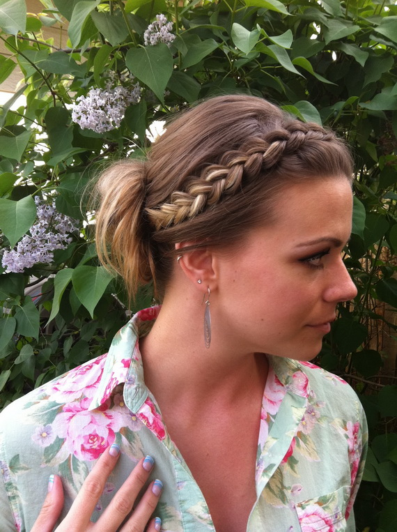 Do-It-Yourself Stylish Summer Hairstyles _8