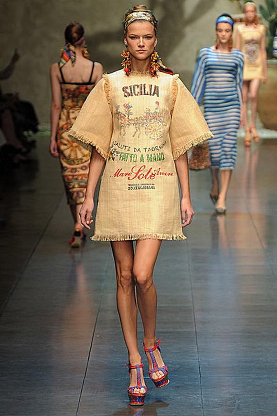 Dolce & Gabbana Spring Summer Holiday Fashion  2013_06